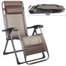 Раскладное кресло-шезлонг для отдыха