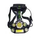 Светодиодный налобный аккумуляторный фонарик BL-T65-T6 HEAD LAMP