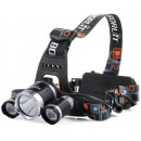 Светодиодный налобный аккумуляторный фонарик BL-RJ-3001-Т6 High Power Headlamp