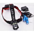 Светодиодный налобный аккумуляторный фонарик  BL-Т06 X-Balog