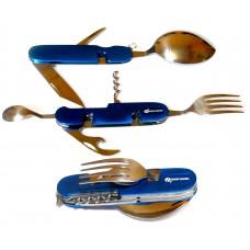 Набор туристический складной(ложка, вилка, нож и др. 7в1) GRAND HARVEST