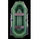 Надувная лодка Аква-Оптима 260 НД с надувным дном из 3-х отсеков