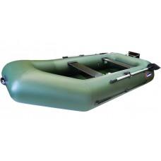 Надувная лодка ПВХ Хантер 280 PT (зеленый)