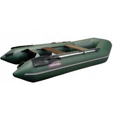 Надувная лодка ПВХ Хантер 290 ЛК (зеленый) HUNTERBOAT