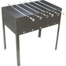 Мангал сборный 350 x 250 x 350мм (сталь 0,5 мм) с шампурами Водолей-НН (Картонная коробка)