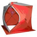 Палатка   зимняя  Куб не утепленная 1.8х1.8м. высота 2.0 (Цвет:бело-оранжевый) CONDOR