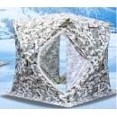 Палатка   зимняя  Куб 1.8х1.8м. высота 2.05м 5-гранная 1801А (Цвет:пиксель-зима) Улов
