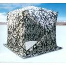 Палатка   зимняя  Куб 2.2х2.2м. высота 2.35м (Цвет: Зимний камуфляж) TRAVELTOP CT-1622