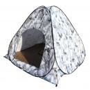 Палатка  для зимней рыбалки 200см-200см-160см. Двухслойная (дно на молнии)