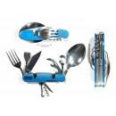 Набор туристический складной(ложка, вилка, нож и др. 9в1) Explorer