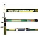 Удилища телескопические с кольцами GOLDEN KINGFISHER тест 5-25гр. WINNER