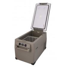 Автохолодильник CF35H, двухкамерный, объем 35л. вес 12,1кг. Kyoda